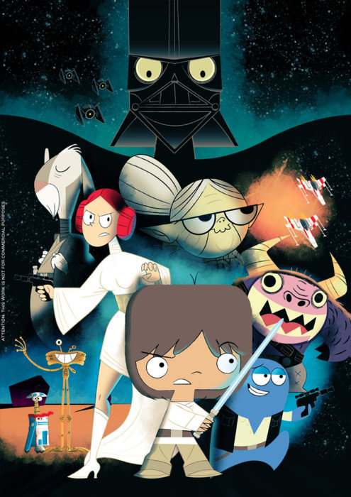 Foster's Home For Imaginary Friends Star Wars Version