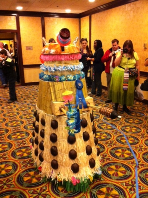 OK, this is just f**ked up. Tiki Dalek