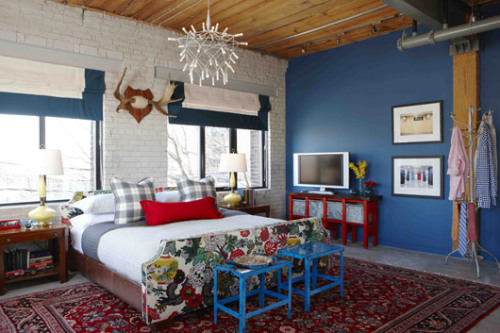 Loft Bedroom from Sarah 101, HGTV Canada