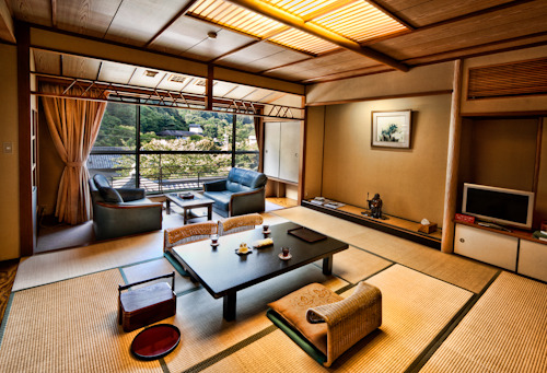"Ervine, Joe, and I stayed in this Ryokan! Pretty isn't it? Staying at a Ryokan was the best experience in Japan. Just before staying here, we hiked Mt. Fuji overnight to catch the sunrise. Oh man, what an experience! I'm not doing it again! Like the Japanese say, ""one who never climbs Mount Fuji is a fool, and one who climbs twice is twice the fool."" It was relieving to soak in an onsen after hiking the tallest mountain in Japan. We had a delicious washoku dinner that night. After, we had the best beer I've ever tasted, Fujiyama Biru! Kanpai! James Chanwww.jcinspiration.com"