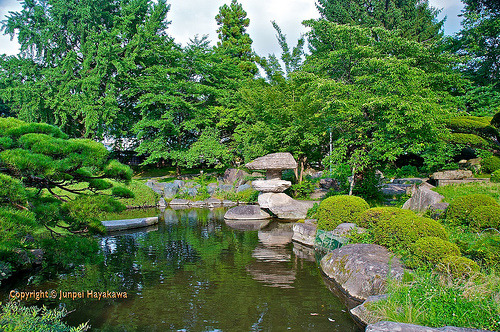 The gardens of Takashima castle.  Flickr: http://flic.kr/p/8sny81