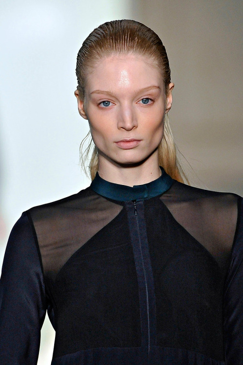 Melissa at Richard Nicoll A/W 2011.
