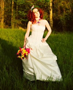 Mad Hatter Bride | Angie Garfield Photography