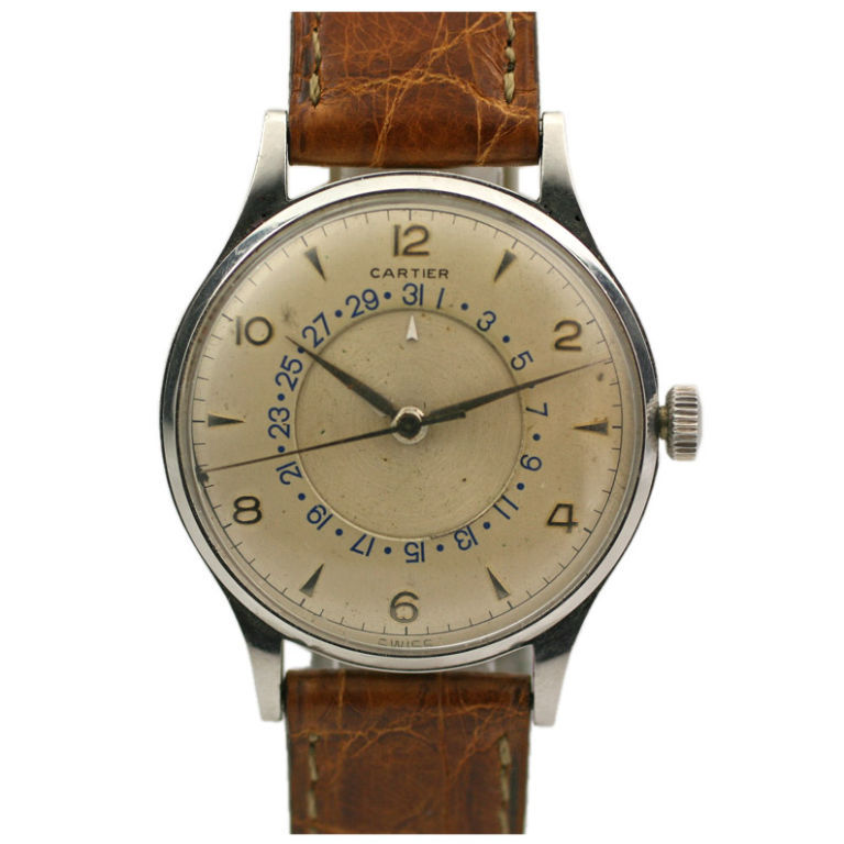 monoscope:  Cartier calendar chronometer.
