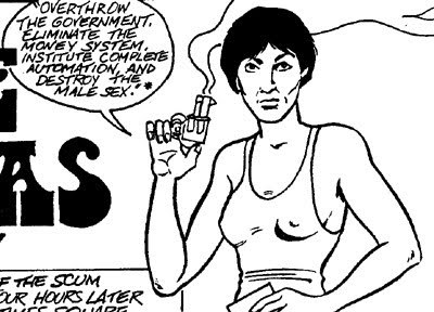 SCUM. Society for Cutting Up Men Manifesto. Valerie Solanas