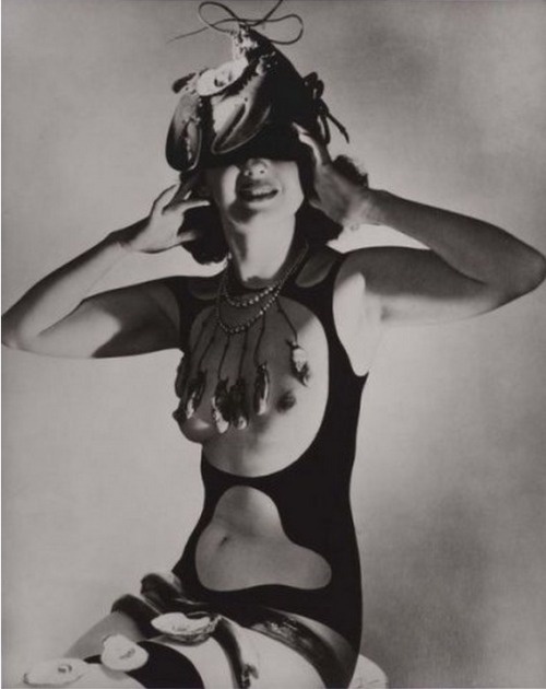 Monday Dali continues:Costume for Dream of Venus, 1939 photographed by Horst P. Horst *  [more famous shot here] from piasa with thanks to chagalov