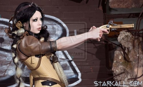 steampunkgirls:    Ziel Endzeit  by *Starkall  Starkall bringing us our steampunk beauty of the day, yet again!