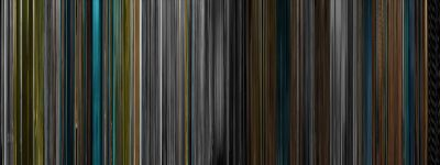 moviebarcode:  I'm Not There. (2007)  The whole movie compressed into a bar code graphic. Gorgeous.