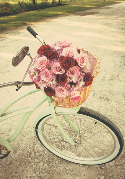 Oh, I can't wait to start riding my bike again! ♥