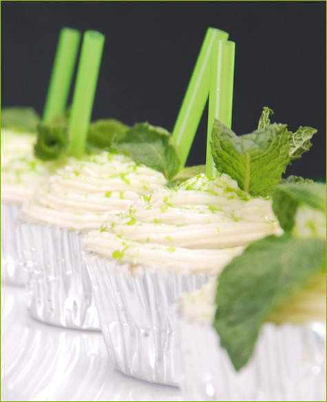 Mint Julep Cupcakes!! Definitely going to try making these soon!!