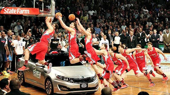 Blake Griffin's Over-The-Kia Dunk: Multiplicity Edition