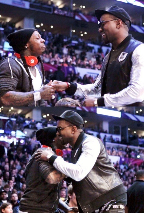 antzilllaa:  Weezy & Yeezy the two best out right now