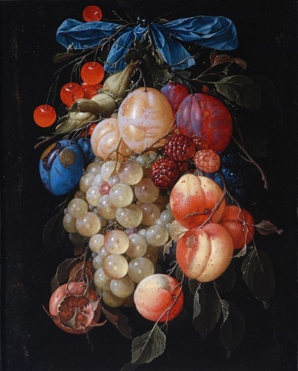 Cornelis de Heem A Garland of Fruit 17th century