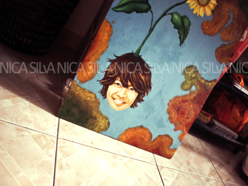 "20"" x 30' oil on canvas (08.27.10)title: POT OF SUNSHINE"