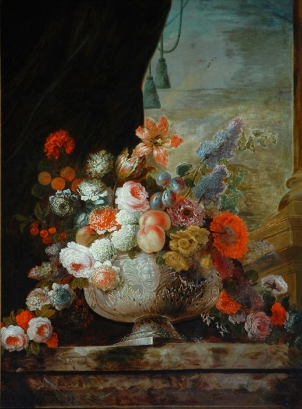 Pierre-Nicolas Huilliot Flowers in a Silver Vase 16th-17th century