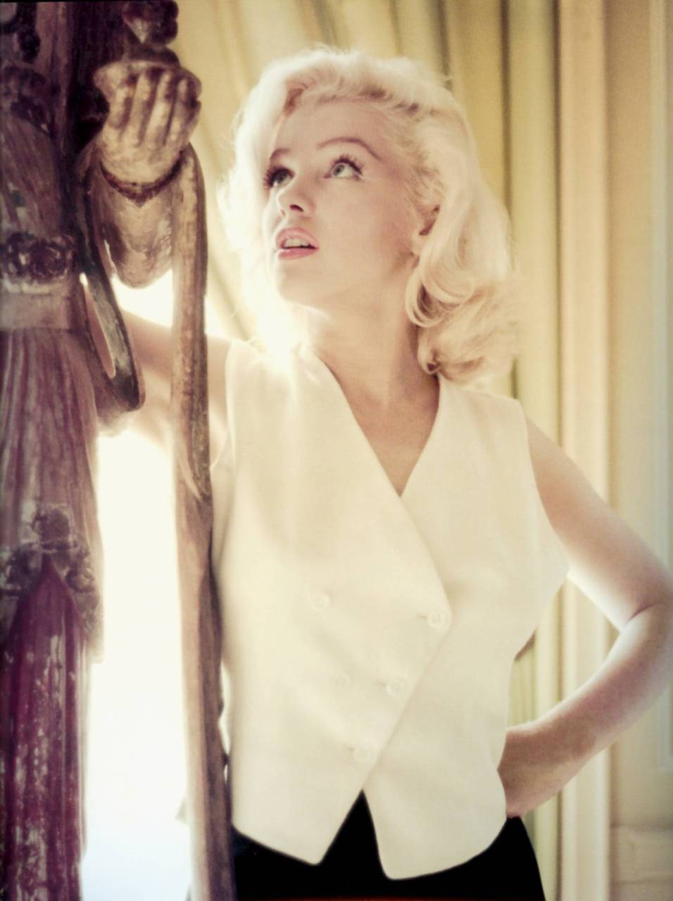Marilyn Monroe by Milton Greene, 1953