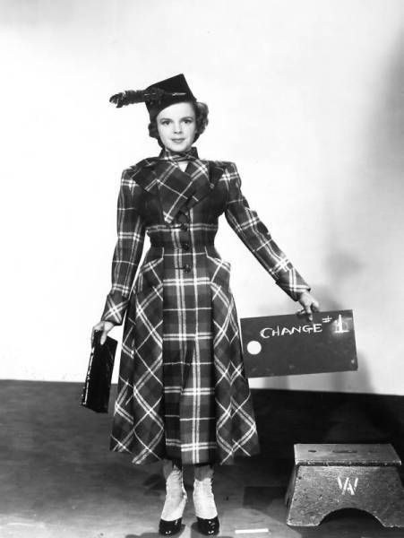 Judy Garland - wardrobe test