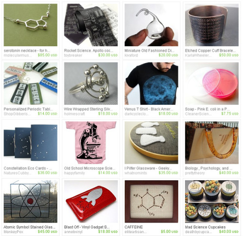 daintyloops:  Science Kicks Ass - An Etsy Treasury <3