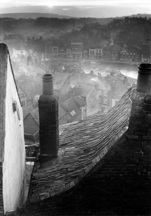 Edwin Smith Roofscape, Whitby, North Yorkshire, 1959 From here