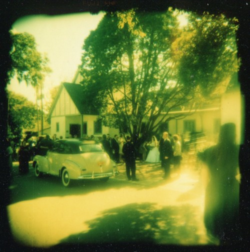 Rockabilly Wedding, Holga 120, X-pro