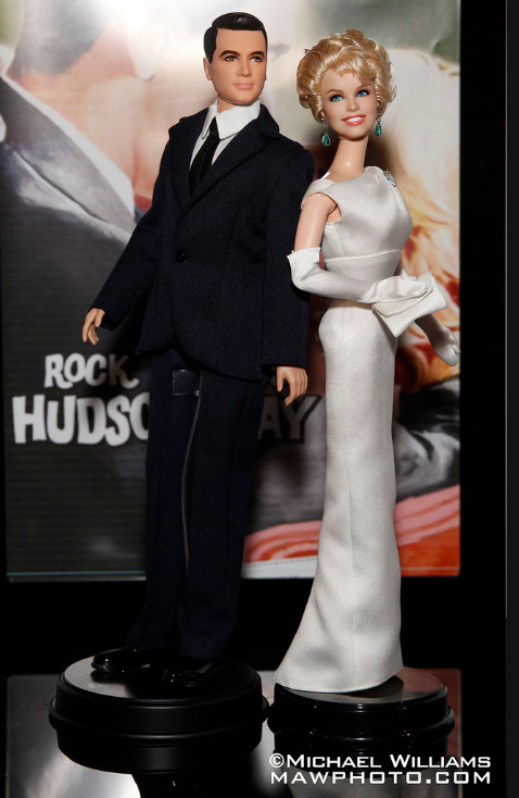 "Rock Hudson and Doris Day ""PiIlow Talk"" Barbies coming out this year"