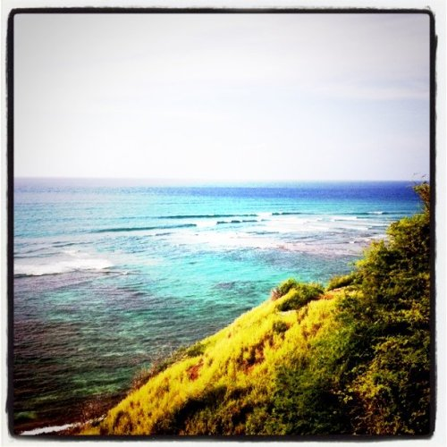 What a view (Taken with Instagram at Diamond Head)