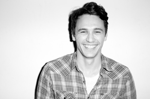 James Franco smiling.