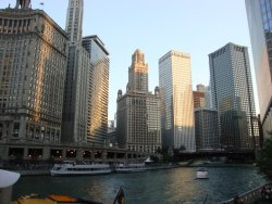 Chicago River, Chicago, IL Taken by me… submitted by: http://dancenightsaway.tumblr.com, thanks!