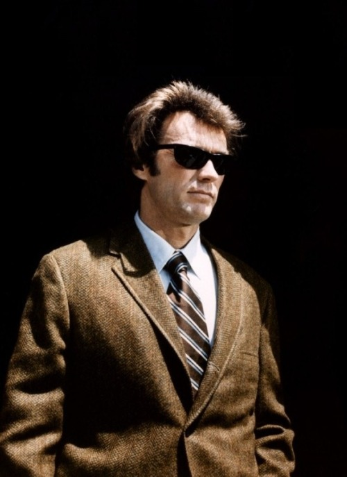 "Clint Eastwood in Dirty Harry (1971, dir. Don Siegel) (via) ""Dustin Hoffman and Al Pacino play losers very well. But my audience like to be in there vicariously with a winner. That isn't always popular with critics. My characters have sensitivity and vulnerabilities, but they're still winners. I don't pretend to understand losers. When I read a script about a loser I think of people in life who are losers and they seem to want it that way. It's a compulsive philosophy with them. Winners tell themselves, I'm as bright as the next person. I can do it. Nothing can stop me."" -Eastwood (1971)"