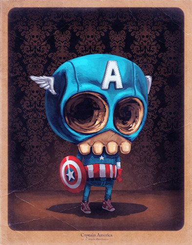 yorokobumag:  Funny illustrations by Mike Mitchell