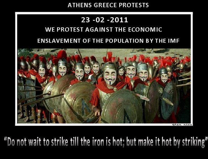 #Athens #Greece #Feb23 #Anonymous via i.imgur.com