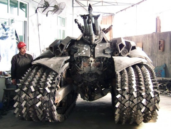 ofp:  Megatron Tank Built in China | Oddity Central - Collecting Oddities