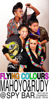 Flying Colours @ Spy Bar (by MyNa Do) Tomorrow @ Spy Bar, Stockholm!Attend: http://www.facebook.com/event.php?eid=153197658071154