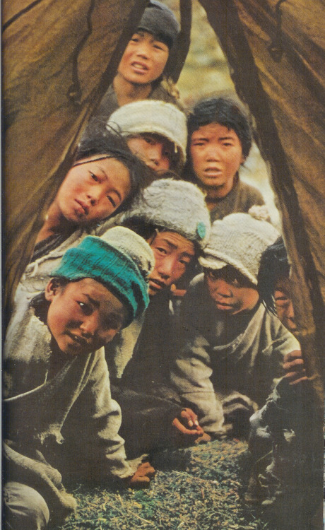 Nepalese children, 1960