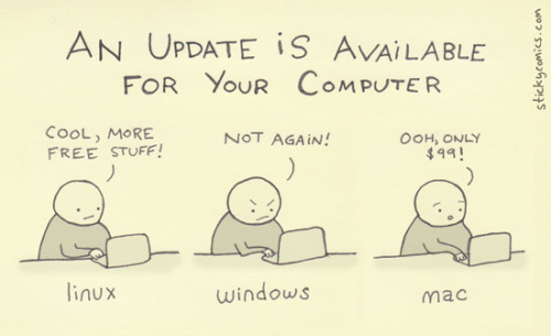 An update is available for your computer.