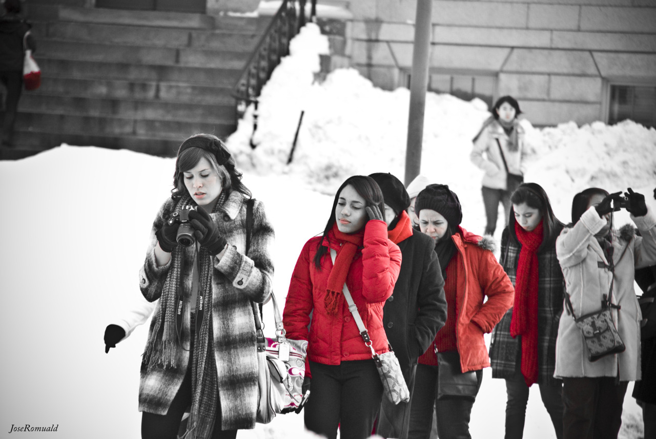 """Red""  Taken in the Harvard Campus, Boston, MA, USA.  - JoseRomuald"