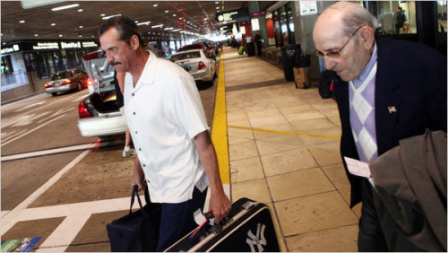 Ron Guidry is Yogi Berra's valet, and it is awesome.