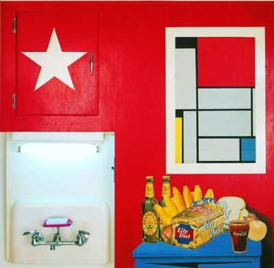 -Still Life #20- Tom Wesselmann  Pop Art.