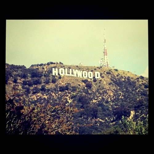 Pop icon (Taken with Instagram at Hollywood Sign)