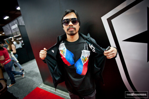 Manny Pacquiao x The Hundreds.