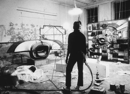 Lee Bontecou's Studio