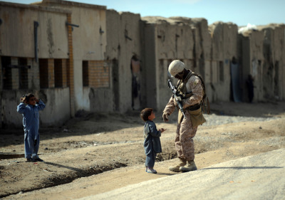 American soldier in Afghanistan.  Source: AFP