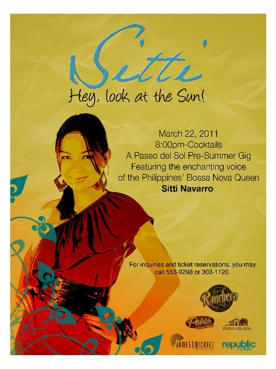 "Sitti ""Hey Look At The Sun""A Pase del Sol Pre-Summer Gig22 March 2011 