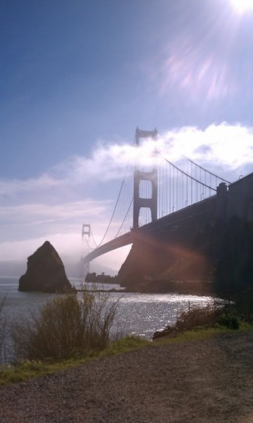 Golden Gate view from Fort Baker, GGNRA Not really a hike, just a fantastic view, and alas - didn't have my real camera. I think my next bay area new hike might have to be Mount Diablo when I come back in March, seeing as it's supposed to snow this week. Who's with me?Looking forward to being back in CO and exploring my home state as a grown-up.