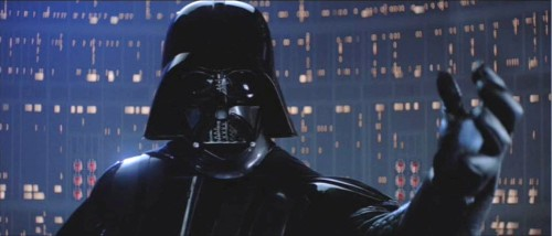 Darth Vader: Dark Lord of the Sith. Scourge of the Jedi. METALHEAD.