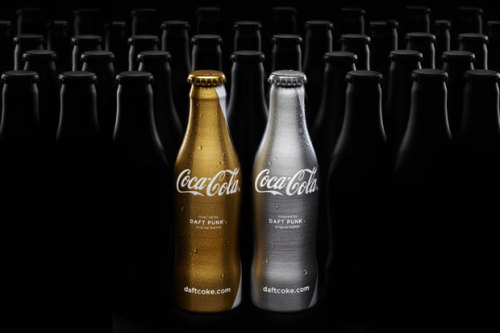 """Daft Punk x Coca-Cola Club Coke""."