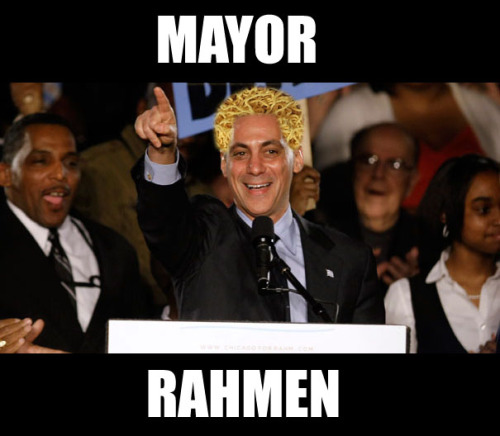 Chicago's Noodle Mayor!