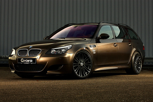 BMW M5 Hurricane RS Touring by G-Power (via cartastic)