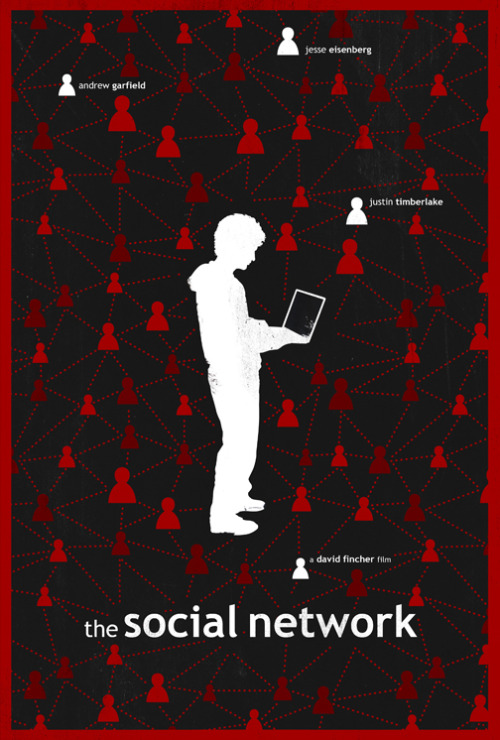 fuckyeahmovieposters:  The Social Network by Laz Marquez