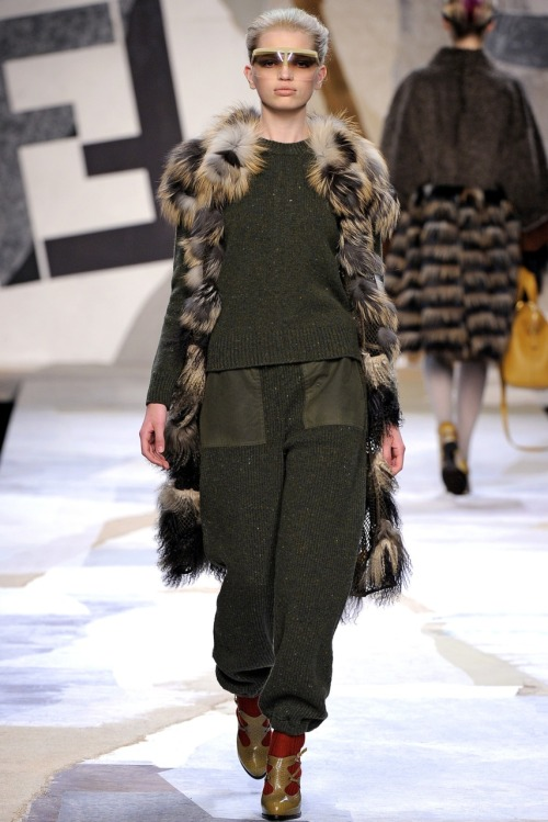 Daph at Fendi A/W 2011.